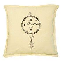 Vietsbay's Ethnic American Totem-5 Printed Khaki Decorative Pillows Case... - $14.39