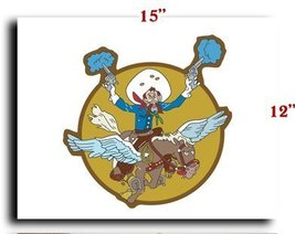Air Force USAF AAC 397th Fighter Squadron 368th Fighter Group SSI CANVAS art ... - $20.78