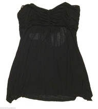 NWT $148 LaROK Black Tube Top with a banded open back sz S - $49.49