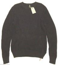 NWT $160 Allsaints Spitalfields Rok Crew Sweater Chunky Knit in Liquoric... - $83.16