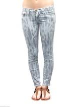Current Elliott Jeans The Stiletto Skinny Leg in Sky Blue Aztec Chevron ... - $68.61