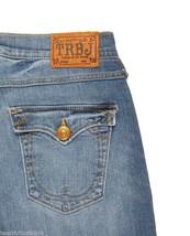NWT True Religion Jeans Lisa Snake Eyes Boyfriend Crops in Medium Drifte... - $108.88