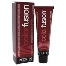 Redken Color Fusion Cream Fashion Hair Color for Unisex, No.4R Red, 2.1 ... - $13.41