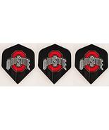Ohio State NCAA Standard Wide Size Dart Flights 1 Set of 3 Flights - $3.95