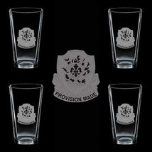 Us Army 96th Support Battalion Dui 4 Glass Set - $34.64