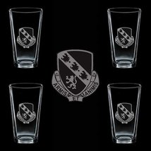Us Army 317th Glider Infantry Dui 4 Glass Set - $34.64