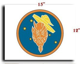 Air Force USAF AAF 5th AF 475th FG 431st Fighter Squadron SSI CANVAS art prin... - $20.78