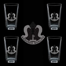 Us Army 303rd Ordnance Battalion Dui 4 Glass Set - $34.64