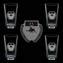 US Army 1st Brigade Combat Team Special Troops Battalion DUI 4 GLASS SET - $34.64