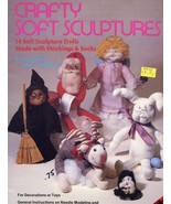 Crafty Soft Sculptures Witch, Santa Patterns Sewing - 30 Days To Shop & ... - $4.47