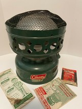 1970 Vintage Coleman 3500 Btu 512A700 Catalytic Gas Camping Heater Box & Booklet - $87.25