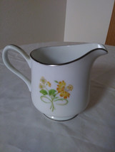 Ekco International  Exquisite Fine China Creamer  Winsford Japan Floral Generati image 1