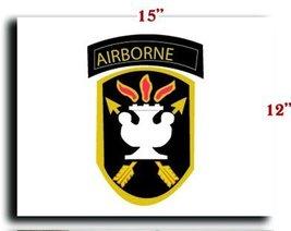 US Army Jfk Special Warfare Center 1 SSI CANVAS art print framed stretch... - $20.78