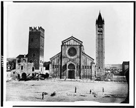 Verona. Church and campanile. St. Zenone [Kitchen] - $12.99