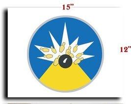 Air Force USAF 19th Bombardment Squadron SSI CANVAS art print framed str... - $20.78