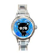 HELLO KITTY CHOCOCAT BLUE CHARM WATCH - CUTE! - $23.99