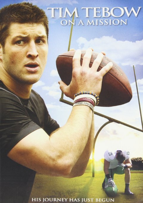 Tim tebow   on a mission   dvd