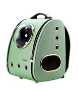 CLOVERPET Luxury Cats Dogs Puppy Pet Travel Bubble Carrier Backpack,Mint... - $177.96