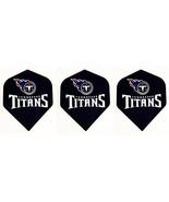 Tennessee Titans Nfl Football Standard Wide Size Dart Flights 1 Set of 3... - $3.95