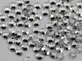 3mm SS12 Silver Plated A59 Acrylic Rhinestones High Quality - 200 PCS - $8.40