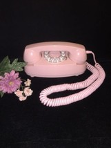 Vintage Pink Princess Touch Tone Rotoryvphone - $69.30