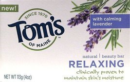 TOM'S OF MAINE, Relaxing Natural Beauty Bar Soa... - $5.97