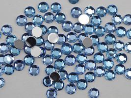 1.5mm SS5 Blue Sapphire Lt. H118 Acrylic Rhinestones High Quality - 500 PCS - $8.30