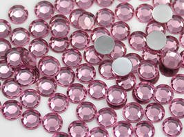 1.5mm SS5 Pink - Lt. Pink A03 Acrylic Rhinestones High Quality - 500 PCS - $8.30
