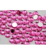 3mm SS12 Pink - Hot Pink A20 Acrylic Rhinestones High Quality - 200 PCS - $7.71
