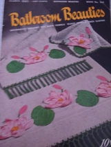 Bathroom Beauties Clark's & Coats Decorative Crochet Pattern Book 1950 - $5.99