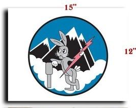 Air Force USAF AAF 8th AF 55th FG 343rd Fighter Squadron SSI CANVAS art ... - $20.78