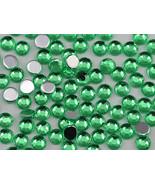2.5mm SS9 Green Peridot A23 Acrylic Rhinestones High Quality - 500 PCS - $9.49