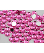 2.5mm SS9 Pink - Hot Pink A20 Acrylic Rhinestones High Quality - 500 PCS - $9.49