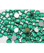2.5mm SS9 Green Emerald A10 Acrylic Rhinestones High Quality - 500 PCS - $9.49