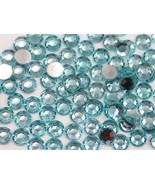 2.5mm SS9 Blue Aqua Lite A08 Acrylic Rhinestones High Quality - 500 PCS - $9.49