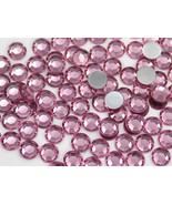 3mm SS12 Pink - Lt Pink A03 Acrylic Rhinestones High Quality - 200 PCS - $7.71