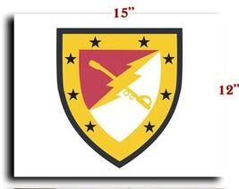 "US Army 316th Cavalry Brigade SSI CANVAS art print framed stretched 15""x12"" - $20.78"