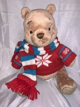 NEW With tags Disney Store Winnie The Pooh 2008 With Christmas Sweater& ... - $39.59