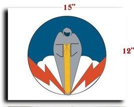 Air Force Usaf Wwii 334th Bs 95 Bg 8th Af Ssi Canvas Art Print Framed Stretch... - $20.78