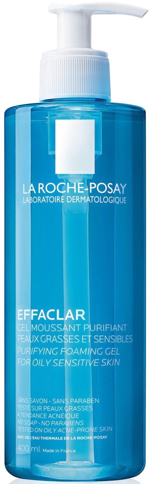 La Roche Posay Effaclar Purifying Foaming Gel For Oily Sensitive Skin 400ml for sale  USA
