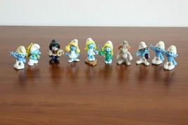 Lot of 10 Smurfs Peyo Kinder Surprise - $19.99