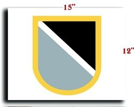 US Army Flash 1st Special Warfare Training Group (Airborne) 1 CANVAS art prin... - $20.78