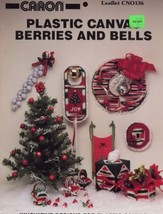Christmas Berries and Bells Plastic Canvas Patterns -30 Days To Shop & Pay! - $1.77