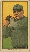 Heinie Berger, Cleveland Naps, baseball card portrait [Kitchen] - $12.99