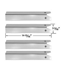 4 PACK Stainless Steel Heat Plate for CFM TG475-2,, Great Outdoors Pinnacle TG47 - $46.08