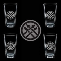 Us Army 220th Military Police Brigade Ssi 4 Glass Set - $34.64