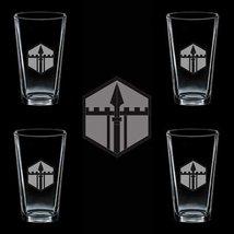 US Army 301st Maneuver Enhancement Brigades 4 GLASS SET - $34.64