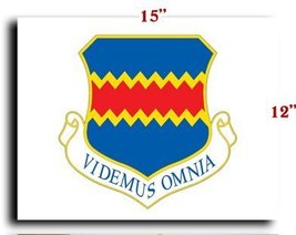 """Air Force USAF 55th Wing CANVAS art print framed stretched 15""""x12"""" [Kitc... - $20.78"""