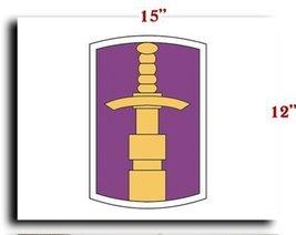 "US Army 321st Civil Affaris Brigade DUI CANVAS art print framed stretched 15""... - $20.78"