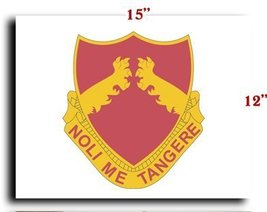 US Army 321st Field Artillery Regiment DUI CANVAS art print framed stretched ... - $20.78